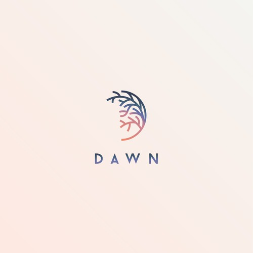 Elegant design depicting Dawn
