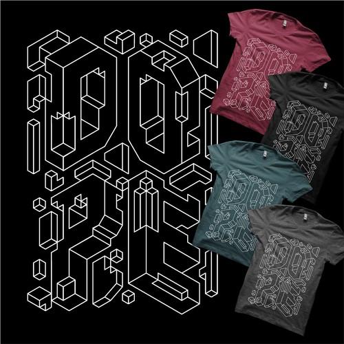 Geometrical Shirt Design