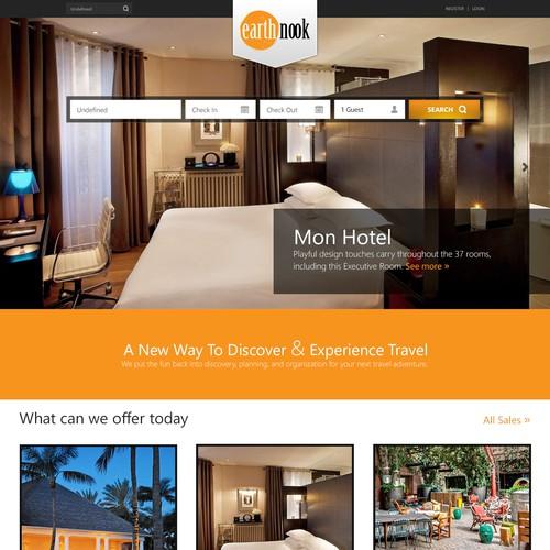 New Travel Website Design