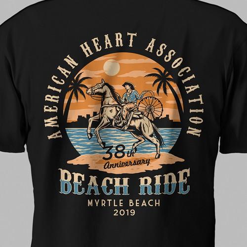 American Heart Association Beach Ride