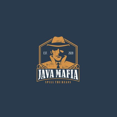 Logo for mafia coffee