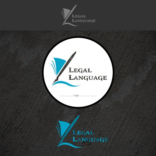 Create a logo, business cards, letterhead and envelopes for LegalLanguage!