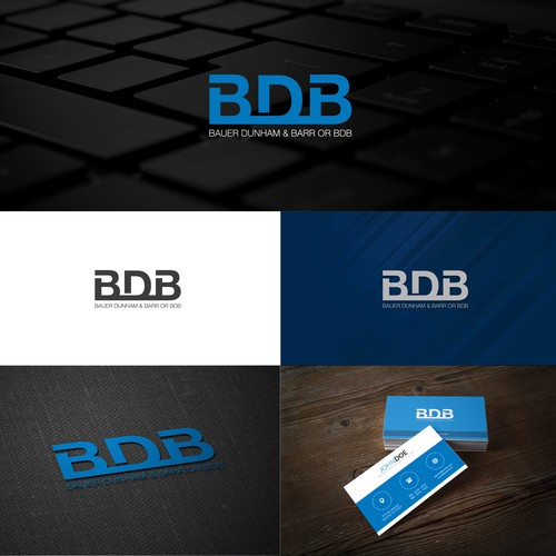 Logotype for BDB company.