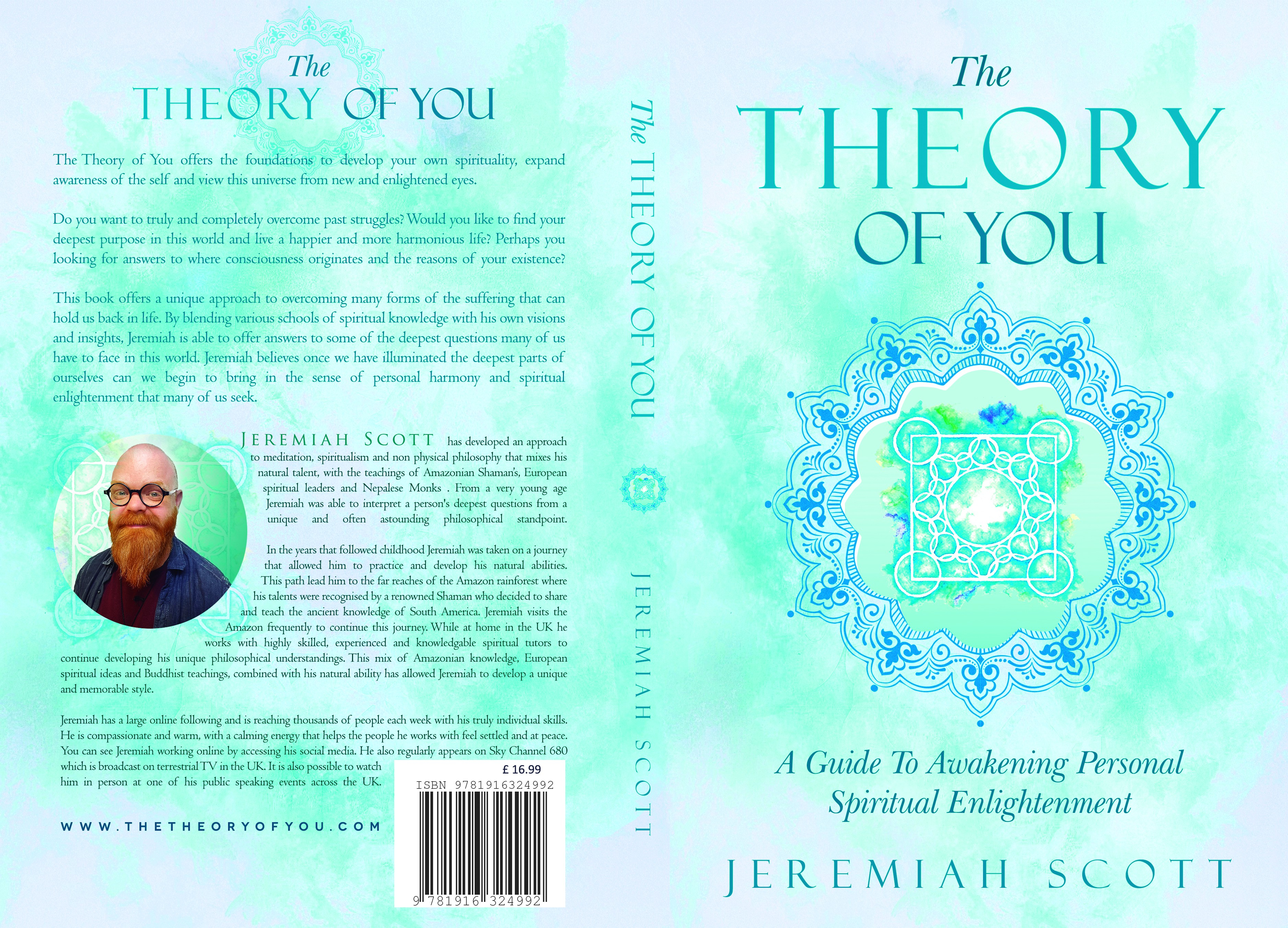 Eye catching NEW cover needed for spiritual enlightenment book