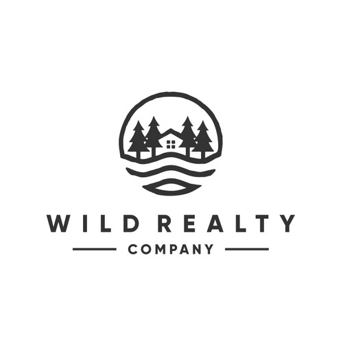 Logo Design for Wild Realty Co.  - Outdoor Focused Properties