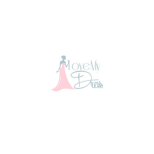 Sweet logo for dress shop