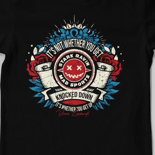 Stark Ravin mad sport shirt