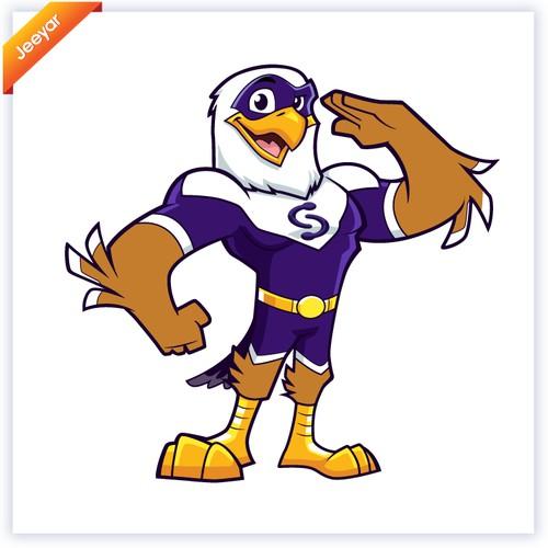 Campaign Sidekick Eagle Mascot