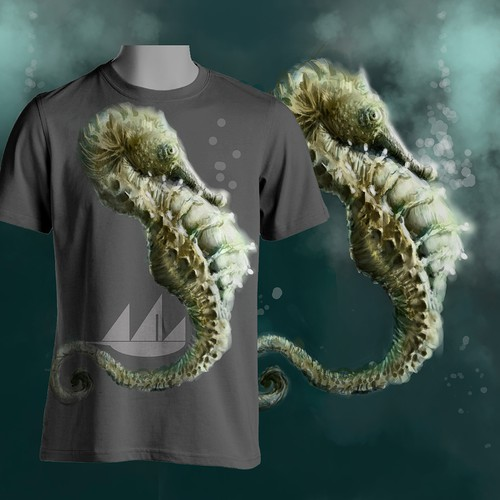 Create a seahorse/sea dragon T-Shirt Graphic for Xebec Threads LLC
