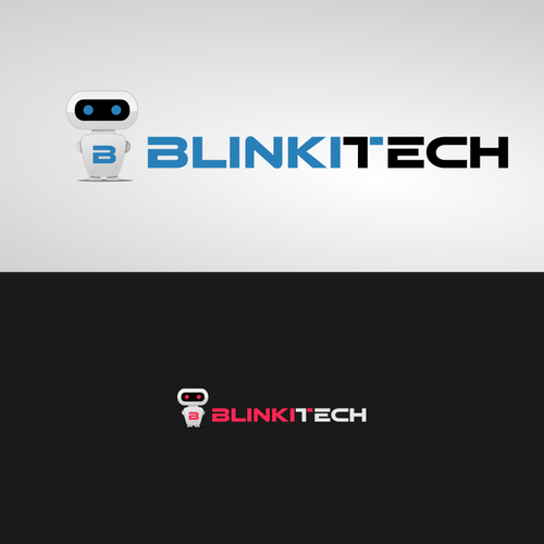 Blinkitech mascot/logo
