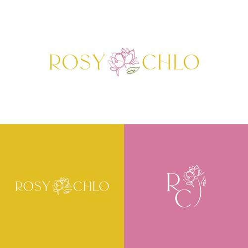 Rosy Chlo Logo Design Concept