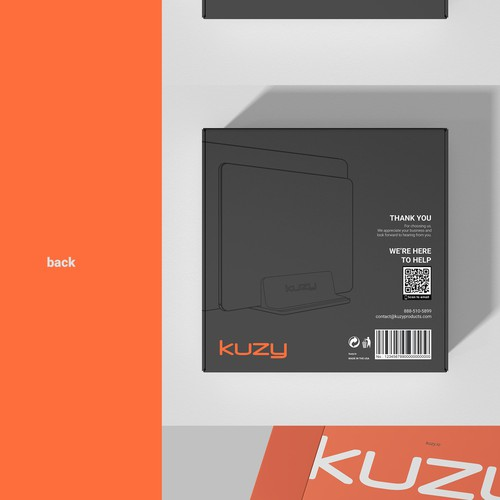 KUZY box design