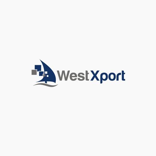 WestXport logo design