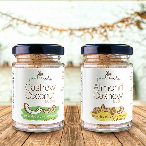 Concept design for nut butter