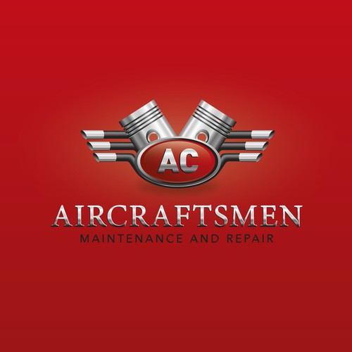 Logo design for airplane industry