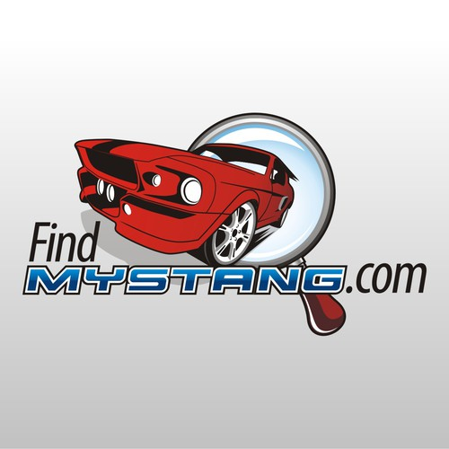 Automotive site:  FindMyStang.com needs a logo
