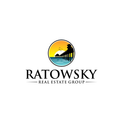 logo concept for RATOWSKY REAL ESTATE GROUP