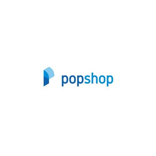 Logo concept for Popshop