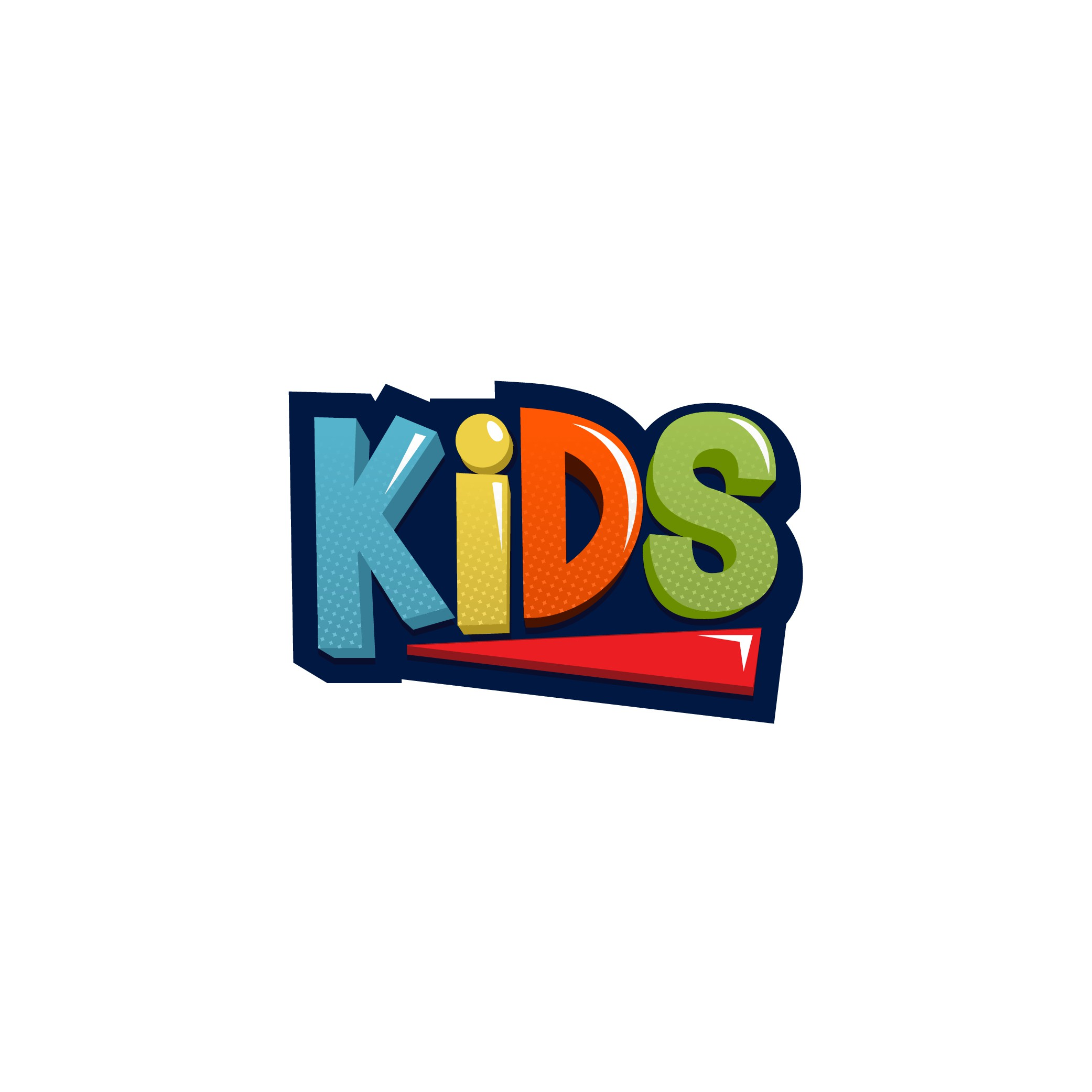 Fun & Engaging Logo for Kids Ministry of Large Church