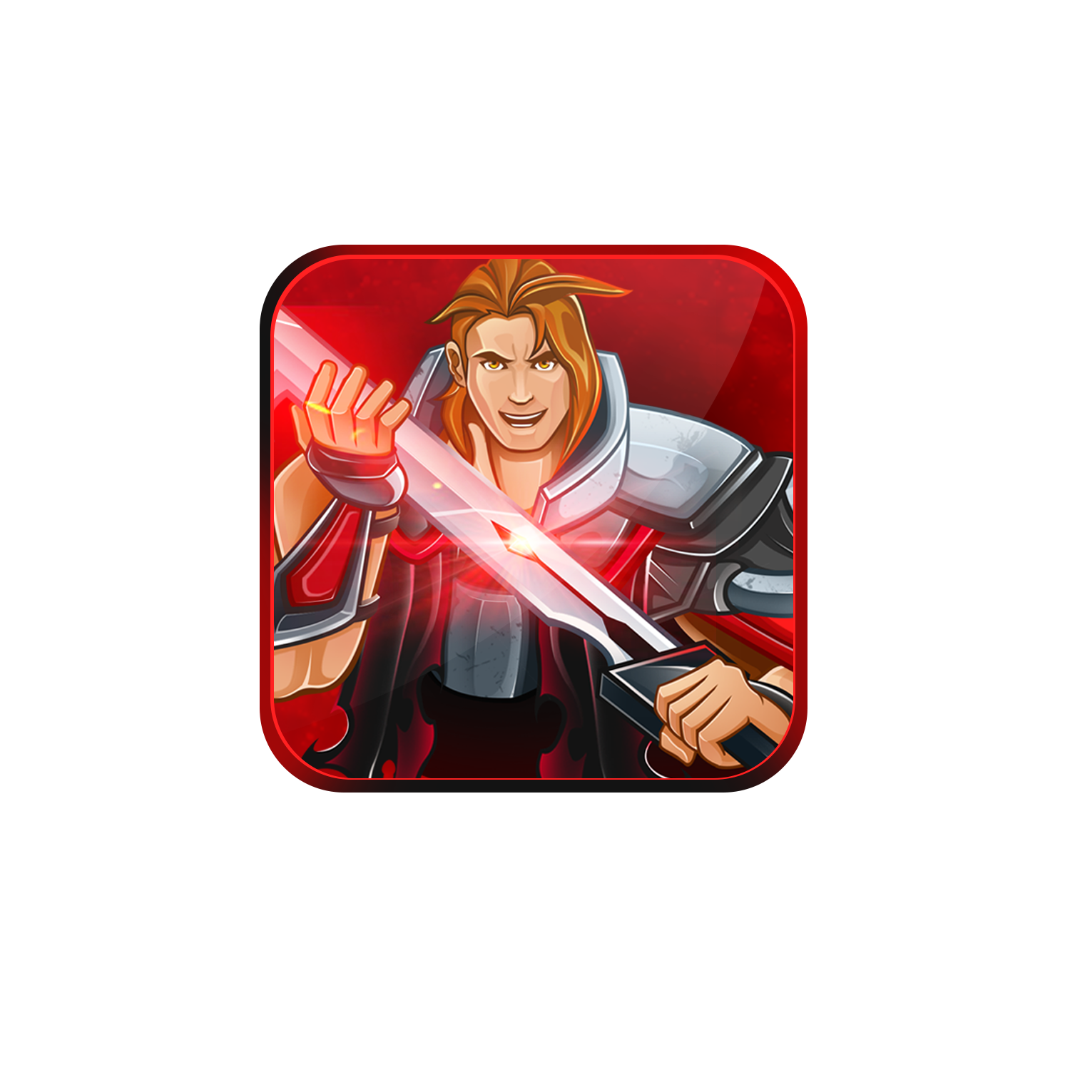 Icon design for our new gaming news app (Newsfusion)