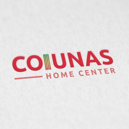 Conceito de logotipo para o concurso Renovação da marca Colunas