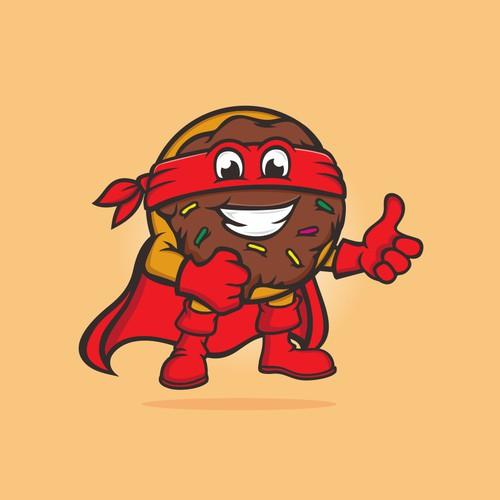 superhero donat