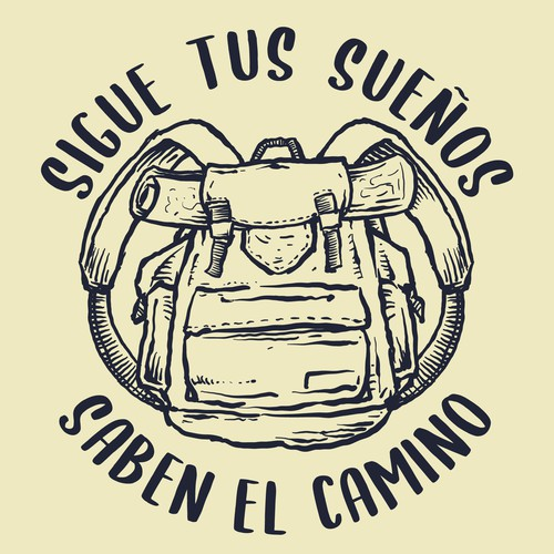 Adventure travelling t-shirt design