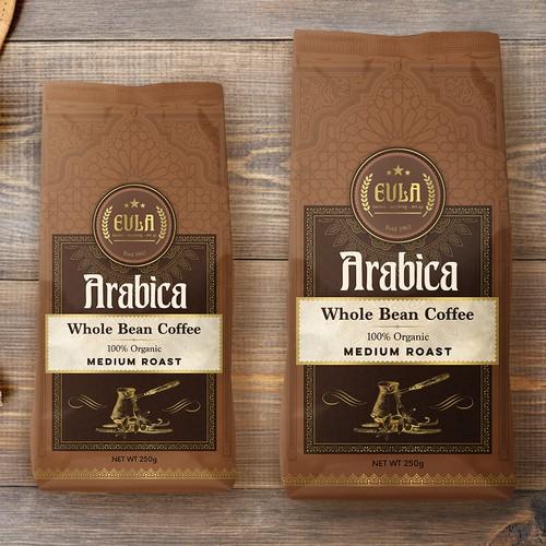 Turkish Coffee, pouch design
