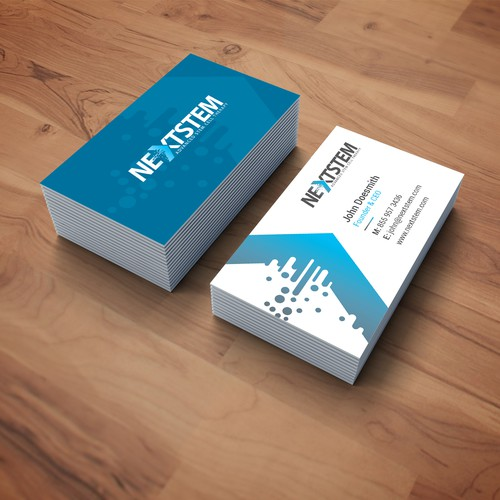 Business Card for NEXTSTEM