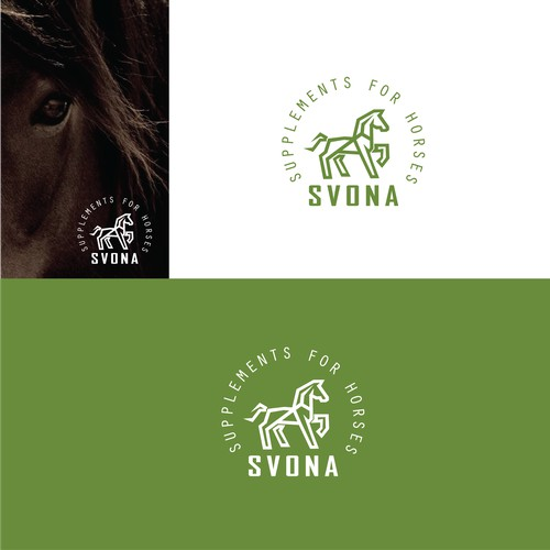 FOR SALE - Logo for horse related products or services. Modified accordingly with the client's company name & slogan.