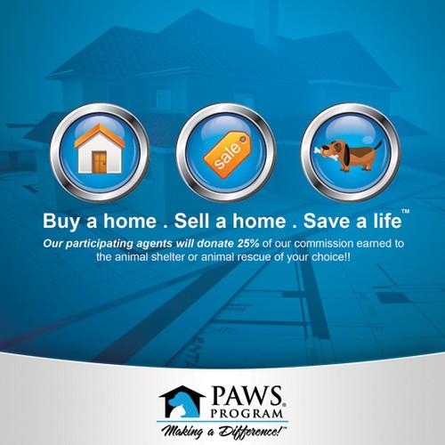 Paws Program Flyer concept