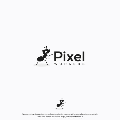 Pixel Workers Logo Design