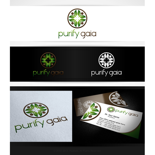 Purify Gaia needs a new logo