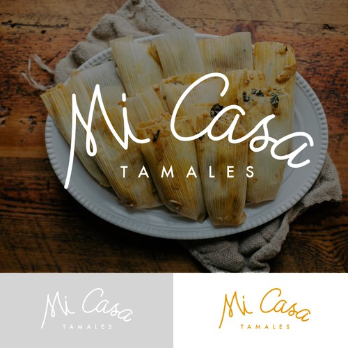 Logo concept for Mi Casa Tamales