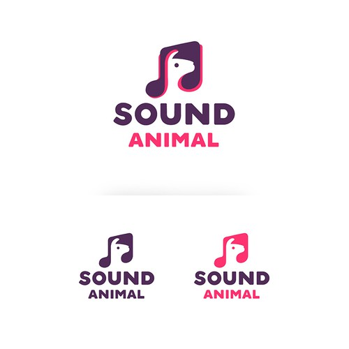 Sound Animal Logo