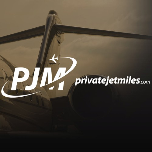 Concept logo for Private Jet