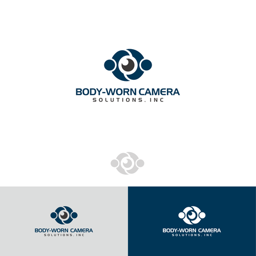 Body-Worn Camera logo design
