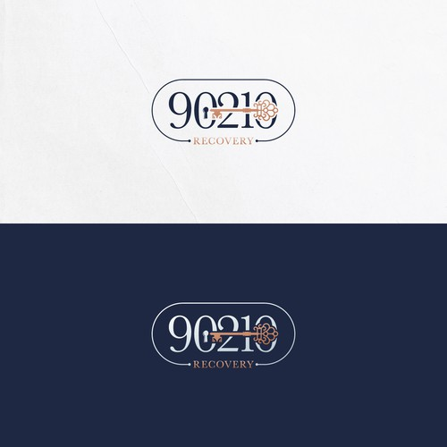 Brand Identity for an upscale luxury rehab in Beverly Hills.