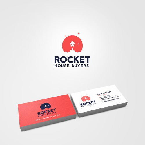 Logo for Rocket House Buyers
