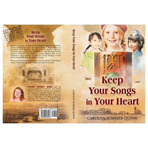"Book cover for ""Keep the Songs in Your Heart"""