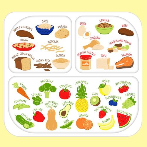 plate design for children