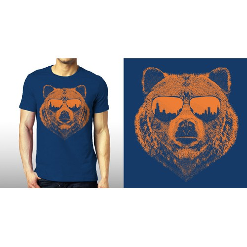 Bear Concept for Location Apparel.