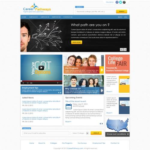 HELP!!! Career Pathways seeks an engaging design