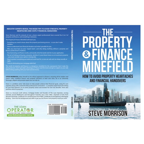 "Book Cover ""The Property & Finance Minefield"""