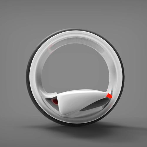 Single wheel vehicle concept