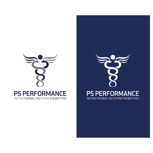 Bold Logo Concept for P5 Performance