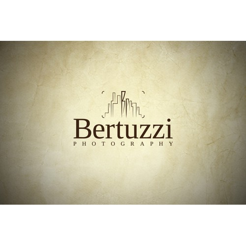 Logo design for Bertuzzi Photography - GUARANTEED