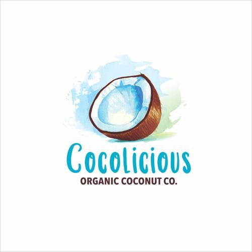 Cocolicious Logo Design