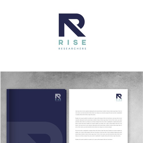 Logo for company that provides research services