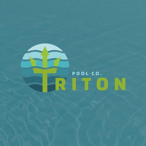 Triton Pool Co. Logo Concept